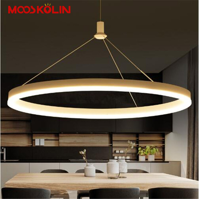 New Modern Pendant Lights Living Dinging Room Kitchen Light Fixtures LED Hanging Lamp Luminaires Dimmable With