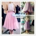 2015 летний стиль макси длинная юбка высокое качество женщины тюль юбка американский бальное платье Saias Femininas юп YFS030270N