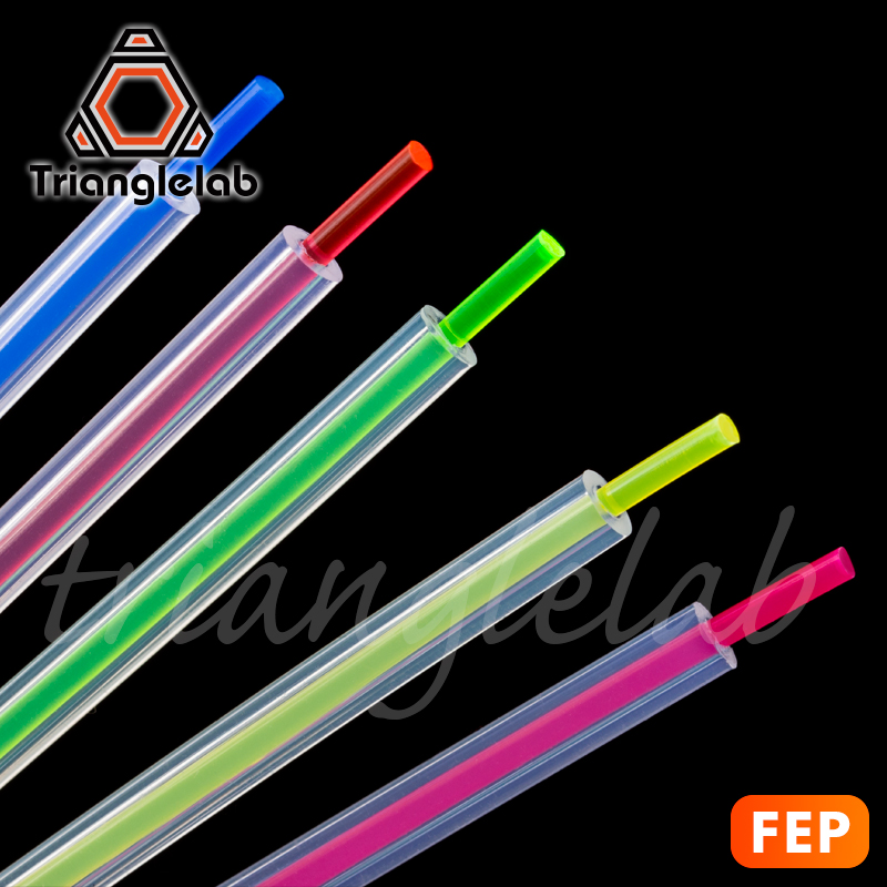 Trianglelab High Transparency FEP Tube  MMU2.0 For Ender-3 I3 Anet Mk8  Bowden Extruder 1.75mm Filament ID2mm OD4mm Non-PTFE