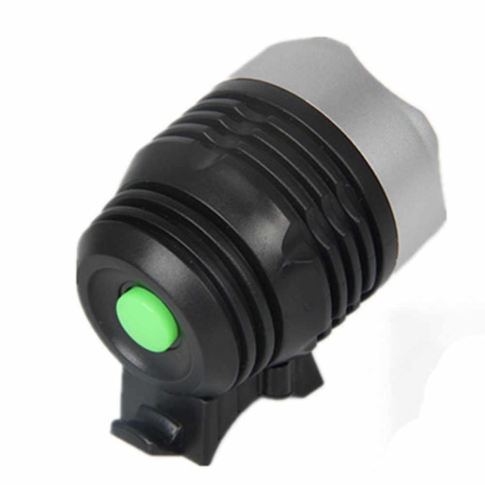 Skywolfeye LED światło rowerów 3000 lumenów XML Q5 interfejs reflektory rowerowe reflektory 3 tryb oświetlenia najwyższej jakości 5.6
