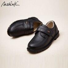 ActhInK/новые детские Свадебные модельные туфли из натуральной кожи для мальчиков; брендовые Детские черные свадебные туфли; официальные кроссовки на танкетке для мальчиков; S011