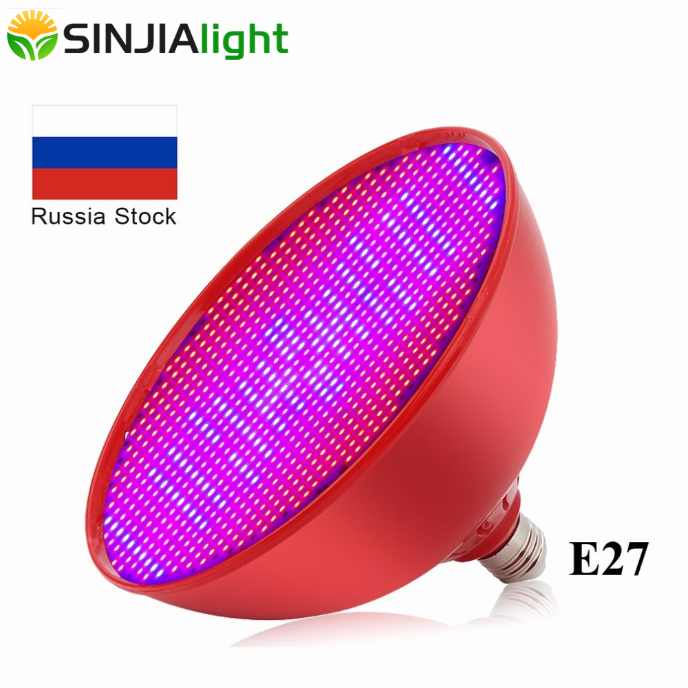 80W E27 LED Grow Light 800Leds Plant Growth Lamp SMD3528 Red+Blue Led Bulb For Flower Seedlings Aquarium Indoor Plants AC85-265V