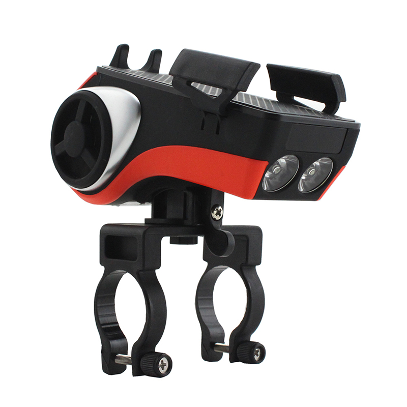 Waterproof Phone Holder Bicycle Bell Bluetooth Audio MP3 Player Speaker Multi Usage Bike Lights Bicycle <font><b>Accessories</b></font>