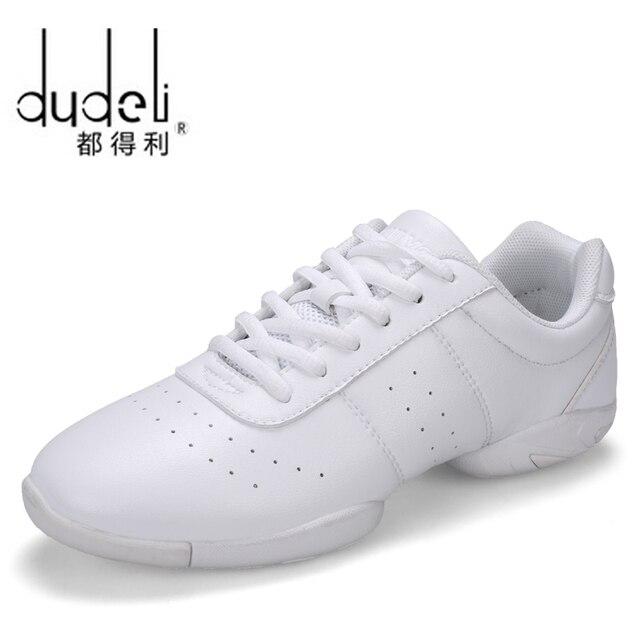 DUDELI niños zapatillas de deporte de los niños competitivo aeróbicos  Zapatos de fondo suave fitness deportes ad62dbee698