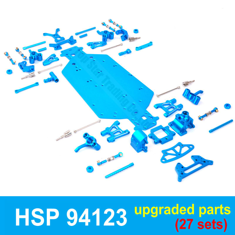 1:10 HSP RC Car 94123 Whole Upgraded Spare Parts Set 102011 102021 102022 102033 102057 102075