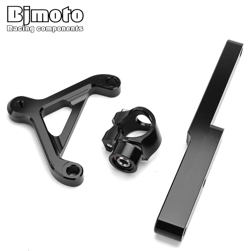 Bjmoto Motorcycle CB 1000R CB1000 R CNC Steering Stabilizer Bracket Kits Holder Damper For Honda CB1000R