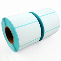Thermal Adhesive Label Paper 60 40 700 Blue Single Row Thermal Bar Code Paper Electronic Said