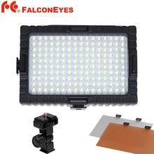 FALCON EYES High CRI95 160 LED Video Light for DV Camcorder Photography LED Light Camera Photo Accessories DV-160V Studio Light