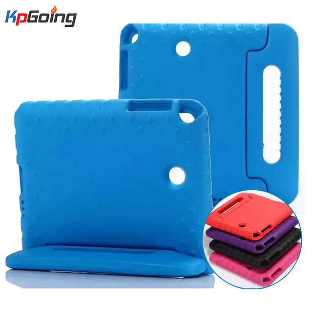 For Samsung Galaxy Tab A 8.0 Case T350 Shockproof EVA Foam Protective Cover For Samsung Tab A 8.0 SM-T350 Cute Kids TV Stand