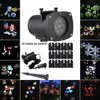 Laser Projector Lamps LED Stage Light Santa Claus Heart Snow Spider Christmas Party Landscape Light Garden