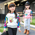 sweatshirts for girls clothes 2017 Spring Winter children clothing girls hoodies fashion pullover hoody kids clothes age 2-14Y