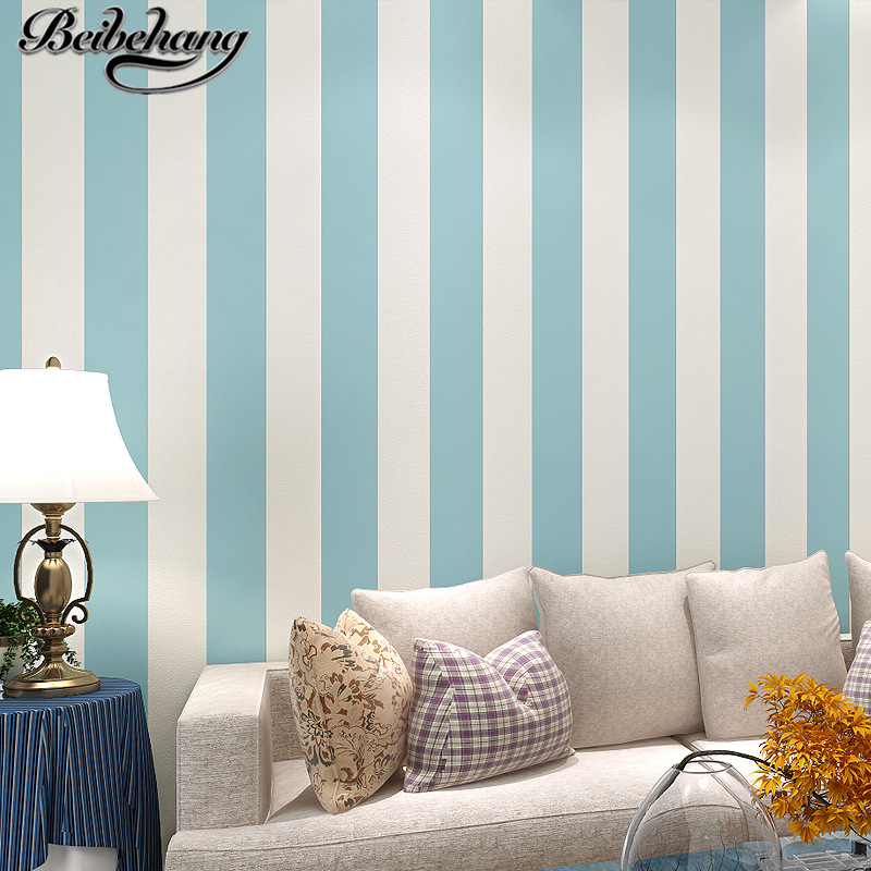 beibehang pure paper non-woven bedroom modern minimalist living room sofa TV background wallpaper papel de parede para quarto modern minimalist embossed silver gray non woven wavy wallpaper living room bedroom sofa background for walls striped wallpaper