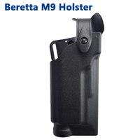 Beretta M9 92 96 Gun Tactical Belt Holster Hunting Airsoft Paintball Pistol Waist Holster Light Bearing