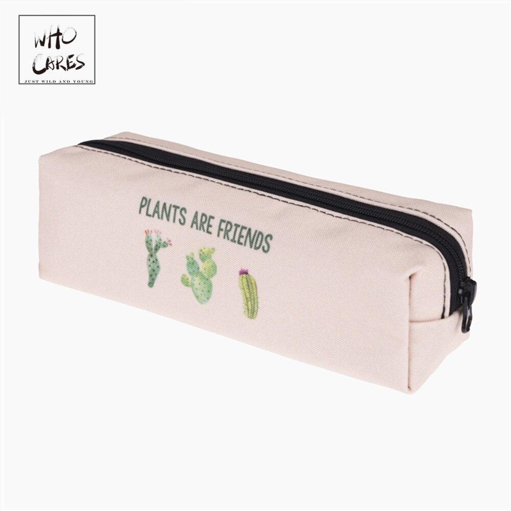 Piants Are Friends 3D Print Cosmetic Bag Women New Makeup Bag Organizer Pouch Necessaire Trousse De Maquillage Bags Pencil Case