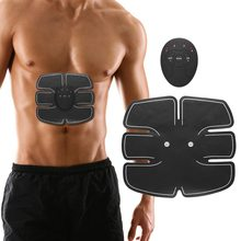 EMS Electronic Abdominal Fitness Wireless Electric Muscle Stimulator Massager  Smart Trainer Weight Loss Belt
