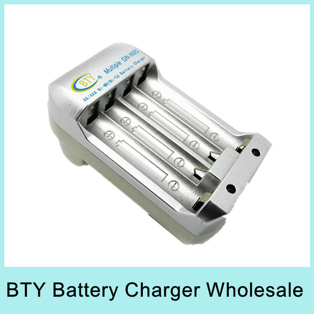 Wholesale BTY High speed Quick Charger for AA AAA Rechargeable Battery Ni-HM/Ni-Cd Battery GN-N95 US EU Plug Fast Shipping
