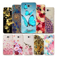 Geruide Case 5.0 inch For Samsung Galaxy J5 Prim Case Soft TPU pintado telefono caso for Samsung  J5 Prime G570 G570F cases цена 2017