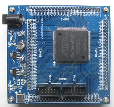 Free Shipping  EP2C8 Core Board / Min System Board /FPGA Development Board /EP2C8 Learning Board