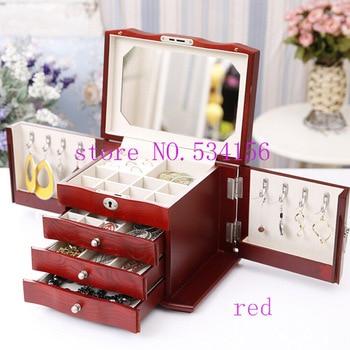 Trinket Jewelry Wooden Box