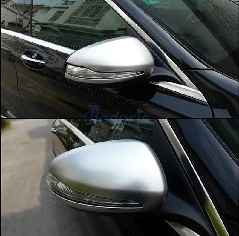 Accessory For Mercedes Benz E Class W213 2017 New C Class GLC Door Mirror Overlay Cover