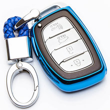 Kukakey ТПУ чехол для автомобильного ключа hyundai solaris i30