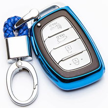 KUKAKEY TPU Car Key Cover Case For Hyundai Solaris I30 IX35 Tucson Accent Getz Remote Flip Fob Shell Accessories