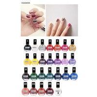 VEAMOR 8ml Stamping Nail Lacquer Nail Polish Stamp Nail Polish 26 Colors Stamper Nail Decoration Stamp