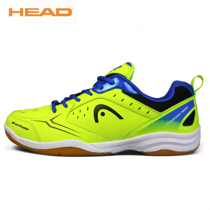 HEAD Badminton Shoes Professional Light Non Slip for Men WomenTraining Breathable Anti Slippery Tennis Sneakers Sport