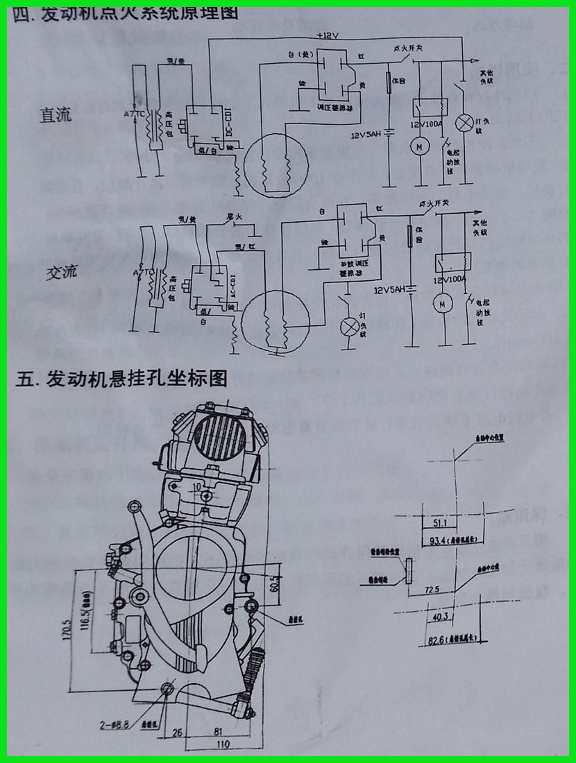 125cc LIFAN Engine 4 Stroke Kick Start Manual Clutch Dirt Bike Motorbike-in  ATV Parts & Accessories from Automobiles & Motorcycles on Aliexpress.com ...