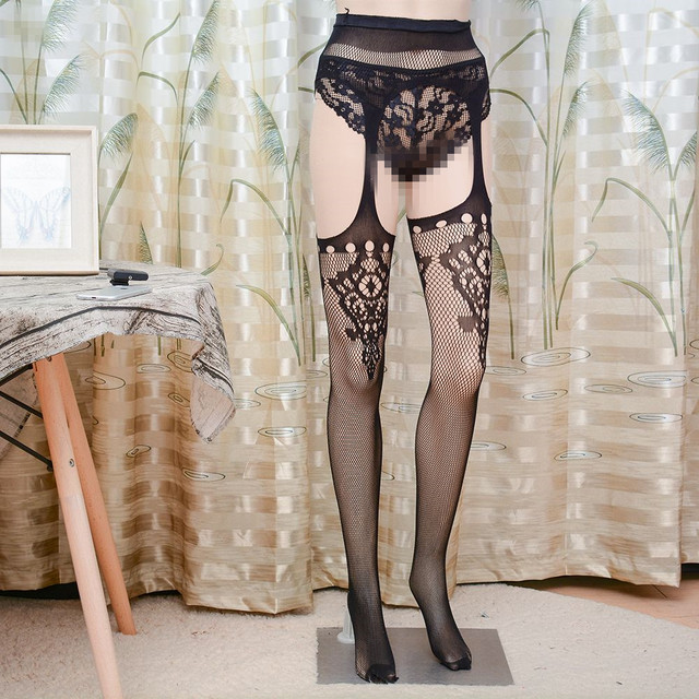 8fe36e443bd Womens Sexy Ladies Lace Top Thigh-Highs Stockings Socks + Suspender Garter  Belt