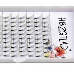 Image 5 - Mới 3D/4D/5D/6D/10D Nga Tập Lông Mi Nối Dài Thân Ngắn Trước Khiến Người Hâm Mộ C/D Cong Chồn Lash Eyelash Cá Nhân Phần Mở Rộng