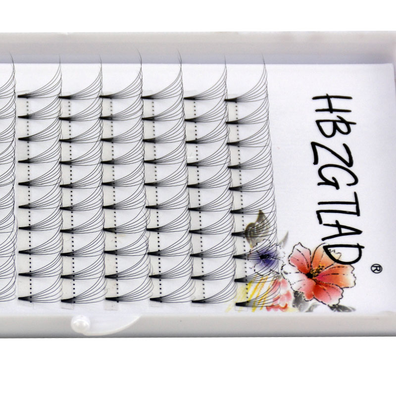 Image 5 - NEW 3D/4D/5D/6D/10D Russian Volume Eyelashes Extension Short Stem Pre made Fans C/D curl Mink Lash Eyelash Individual Extensions-in False Eyelashes from Beauty & Health