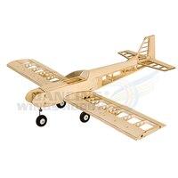 RC Airplane Model Balsawood Aeromodelling Laser Cut EP Power Wingspan 1.4M Training Plane T30