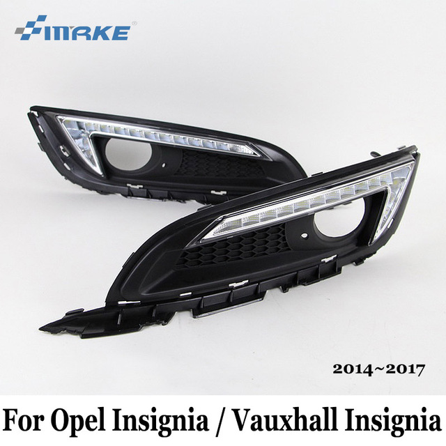 DRL For Opel Insignia / Vauxhall Insignia 2013~2017 / Car LED ...