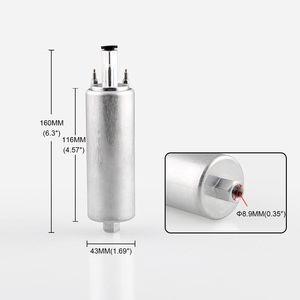 Image 3 - אחד רכב דלק משאבת GSL392 גבוהה לחץ הזרקת דלק משאבת שונה רכב Inline דלק משאבת טעון חלקי שינוי רכב