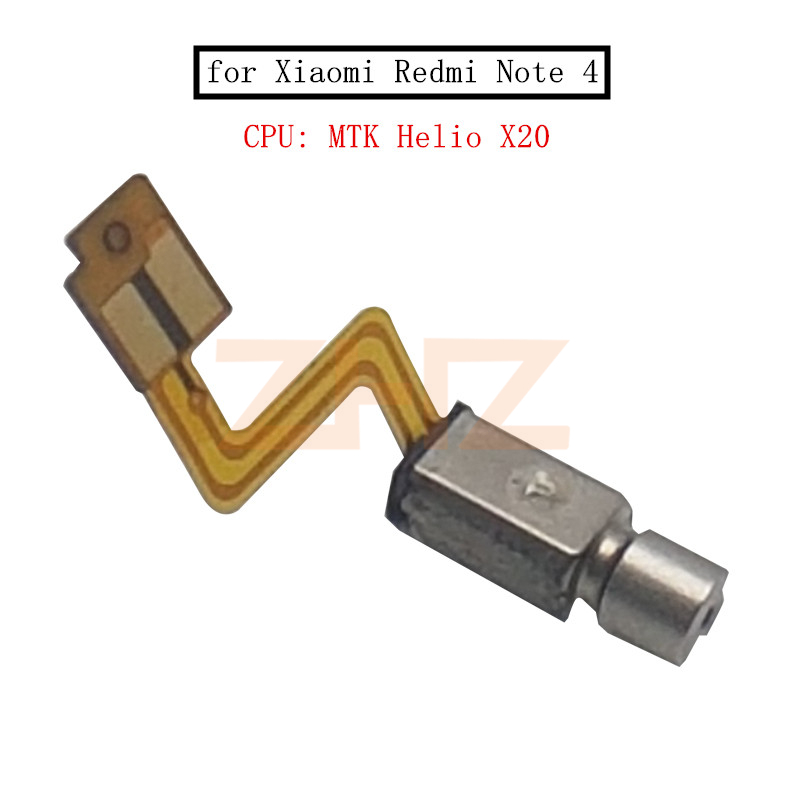 for Xiaomi Redmi Note 4 MTK Vibrator Motor Vibration Module Flex Cable Cell Phone Replacement Repair Spare Parts Tested QC