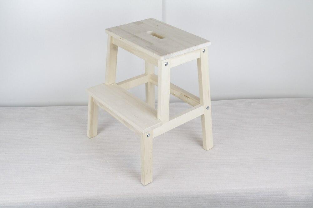 Ikea bekvam passo sgabello in legno massello sgabello del piede
