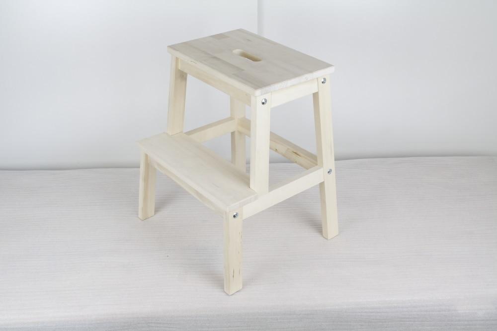 Ikea Footstool Wood Amp Diy Striped Shag Footstool Ikea Hack