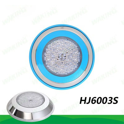 DHL stainless steel Surface Mounted 7w 10W 18W 25W 12v Super Bright Led Rgb Swimming Pool Underwater Light Fountain Pond Lamp