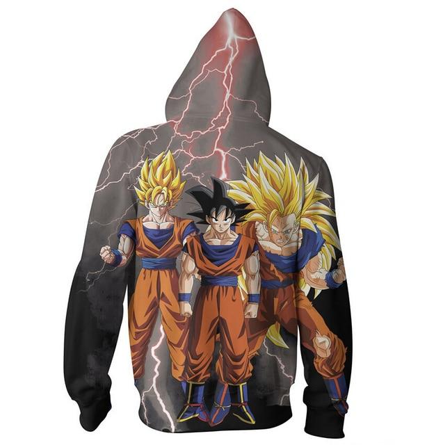Goku 3D Print Women Men Hoodie Sweatshirt