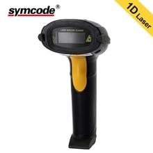USB Leitor de código de Barras, Symcode 1D Laser Handheld Barcode Scanner USB Com Fio