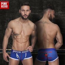 Sexy Men's Panties Cartoon Cotton Comfortable Printed U Capsule Breathable Calvin Underwear Man Trunk Brand Men Shorts Boxers