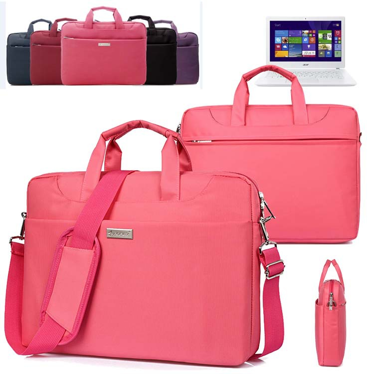 Waterproof Ladies Laptop Shoulder Bag Travel Carrying Case Briefcase Messenger for Acer 15.6'' Aspire V15 / E 15 ES1/ V 15 V3 V5