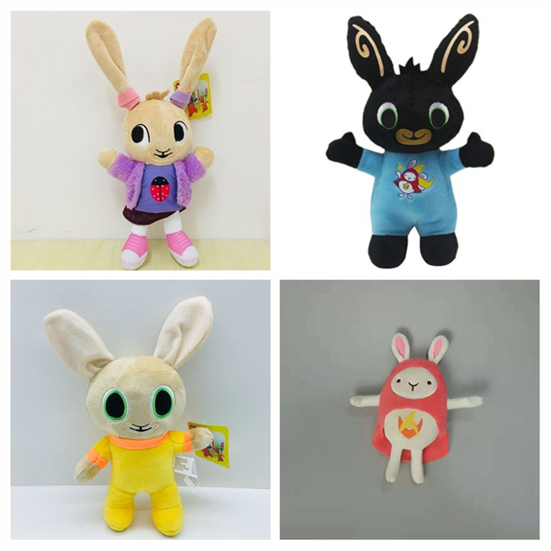 BING BUNNY Plush Bunny Toy Flop Doll Toys Coco Sula Hoppity Voosh Stuffed Animal Pando Rabbit Toys For Children Christmas Gifts