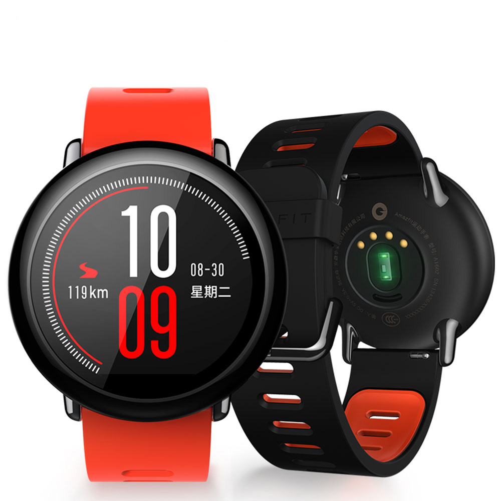 Xiaomi Huami Watch AMAZFIT Pace GPS Running Sports Smart Watch Heart Rate Monitor huami amazfit heart rate smartband
