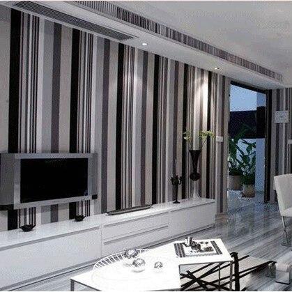Große Wand Ziegel Wand Hintergrund Tapete Grau Für Wohnzimmer, 3d Stein  Tapete Moderne Wandverkleidung Pvc