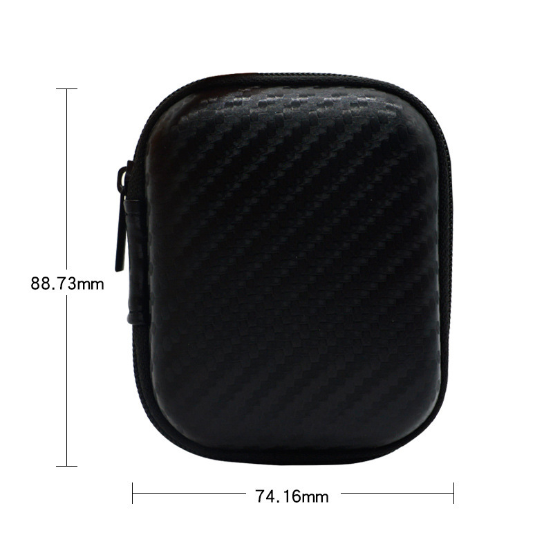 Headphone Case Portable Earphone Hard Storage Box For For Apple Airpods Shockproof Coverfor USB Memory Card Cable Organizer 2yw in Earphone Accessories from Consumer Electronics