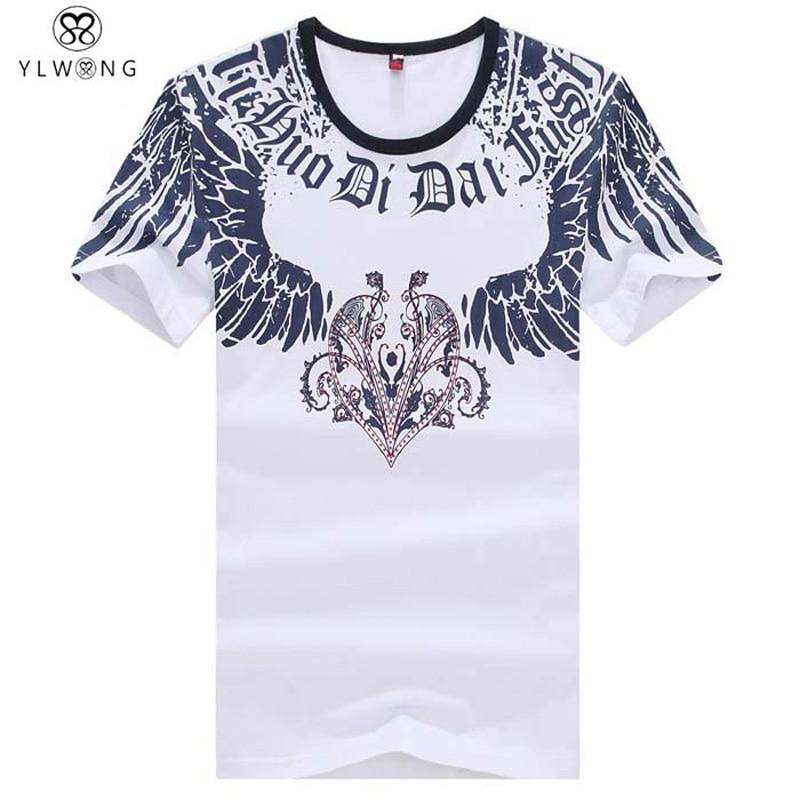High Quality Men T Shirt Famous Brand O Neck Men T Shirt