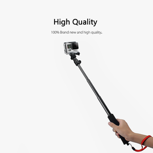 Image 5 - Vamson עבור Gopro אביזרי ספוג להארכה מוט Selfie מקל חדרגל חצובה pro עבור גיבור 7 6 5 4 עבור SJCAM עבור יי מצלמה