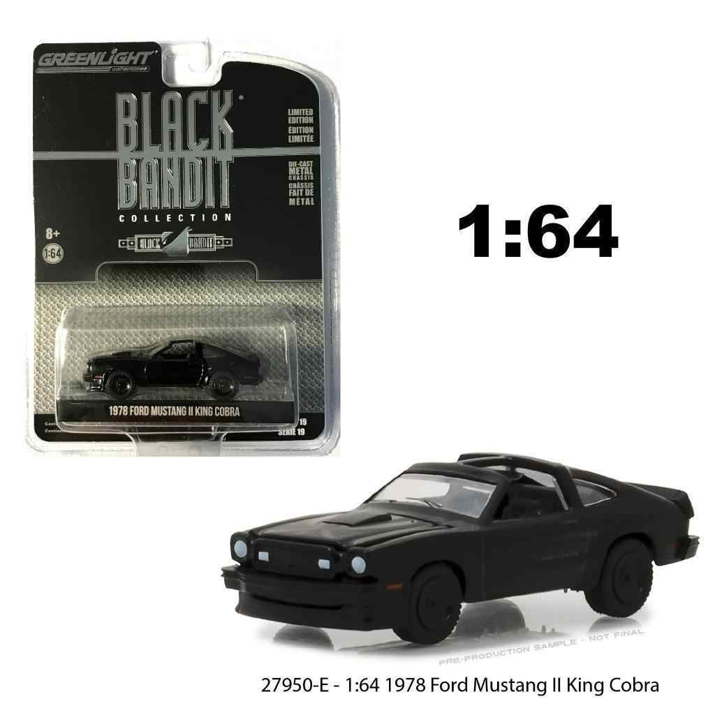 GL 1:64 1978 Ford Mustang II King Cobra alloy model Car Diecast Metal Toys Birthday Gift For Kids Boy